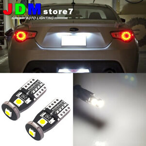 Details about 4x Super Bright White 360°168 194 2825 LED Bulbs For License  Plate Lights