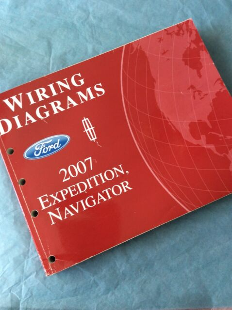 2007 Ford Expedition Lincoln Navigator Electrical Wiring Diagram Service Manual