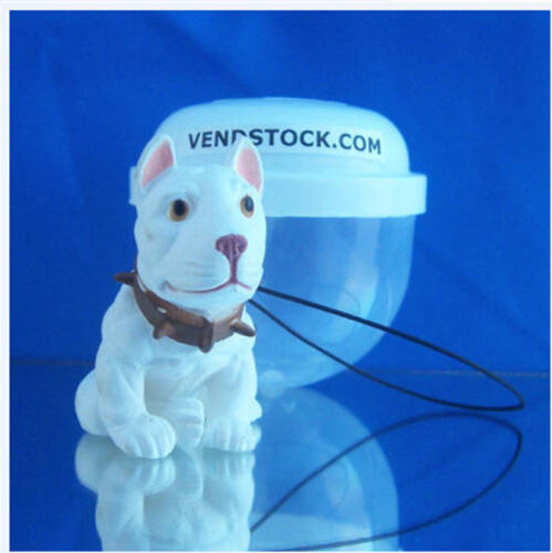 PIT BULL TERRIER #28 HOOD HOUNDS DOG FIGURE DANGLER KEYCHAIN LIGHT FAN LAMP PULL