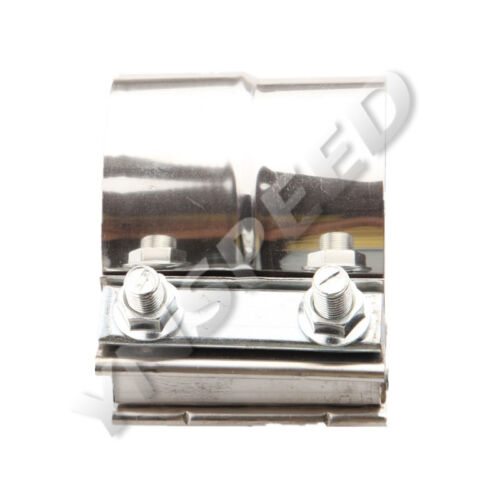 """2.75/"""" 2 3//4 inch TorcTite Stainless Steel Lap Joint Step Exhaust Band Clamp"""