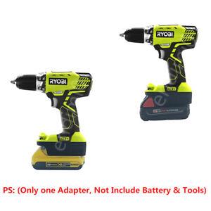 1Pcs Milwaukee M18 Li-ion Battery to AEG/&RIDGD 18V//20V Tools Batteries Adapter