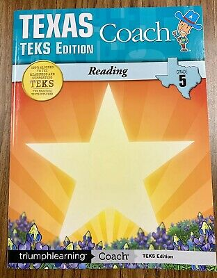 Texas coach teks edition reading grade 8 by triumph learning.