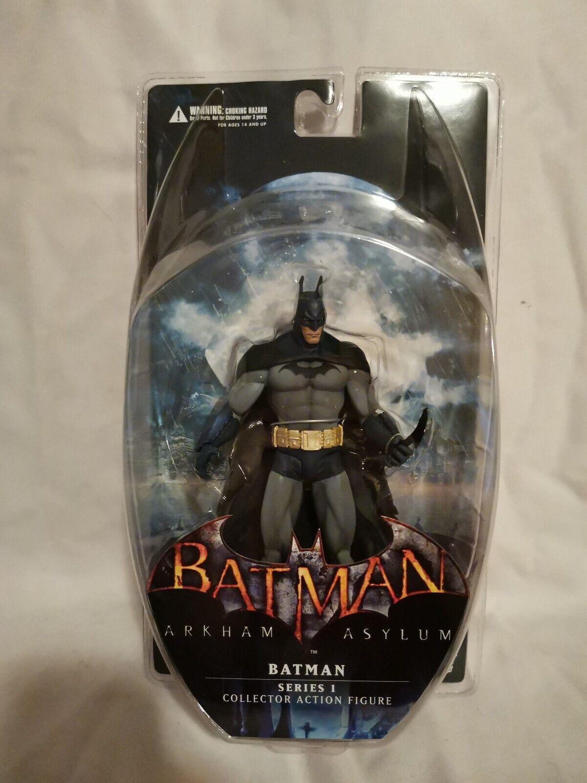 DC Direct Toys Collectibles Arkham Asylum series 1 BATMAN 7in Action Figure