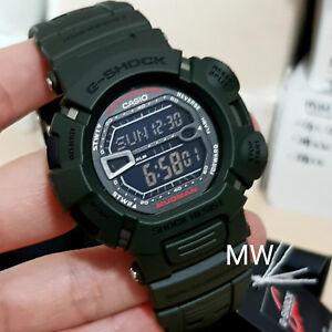 CASIO-G-SHOCK-MUDMAN-RESISTANT-GREEN-RESIN-G9000-3-World-time-WATCH-ORIGINAL-BOX