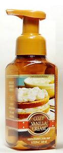 1-Bath-amp-Body-Works-COZY-VANILLA-CREAM-Gentle-FOAMING-Hand-Soap