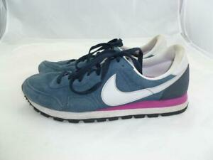 Recuperar Determinar con precisión contraste  NIKE AIR PEGASUS 83 USED MEN 10.5 SUEDE LEATHER BLUE/MAGENTA SNEAKERS  616324-406 | eBay