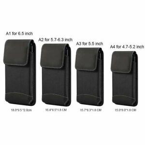 Cellphone Waist Bag Phone Case Universal 4.7-6.9 Inch Pouch Holster Belt Clip
