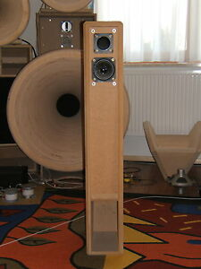 Hornlautsprecher-2-Wege-Bausatz-MINI-m-ultrakleinem-Bass-Paar-ohne-Holzteile