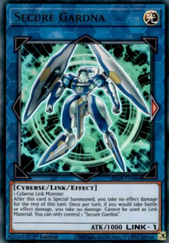 Secure Gardna X3 BLAR-EN086 Ultra Rare 1st NM Yugioh