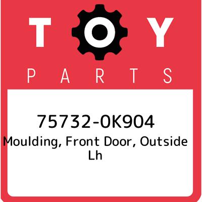 Genuine Toyota Side Molding 75533-0C040