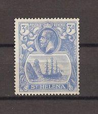 """ST HELENA 1922 SG 101B """"Torn Flag"""" Fine Mint Cat £130"""