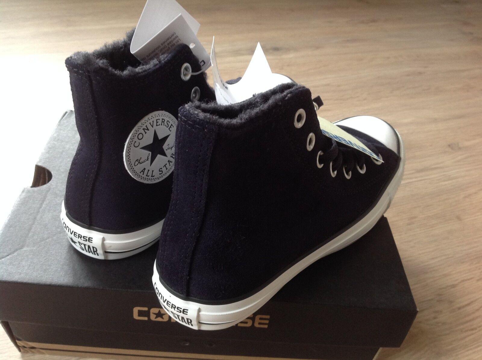 Converse ALL STAR schwarz gefüttert  neu und ungetragen - grösse 37,5 (UK 5)