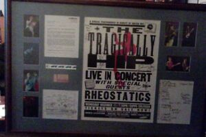 TRAGICALLY-HIP-BAND-GORD-DOWNIE-SIGNED-FRAMED-EXTRA-RARE-POSTER-amp-COLLAGE-1-1