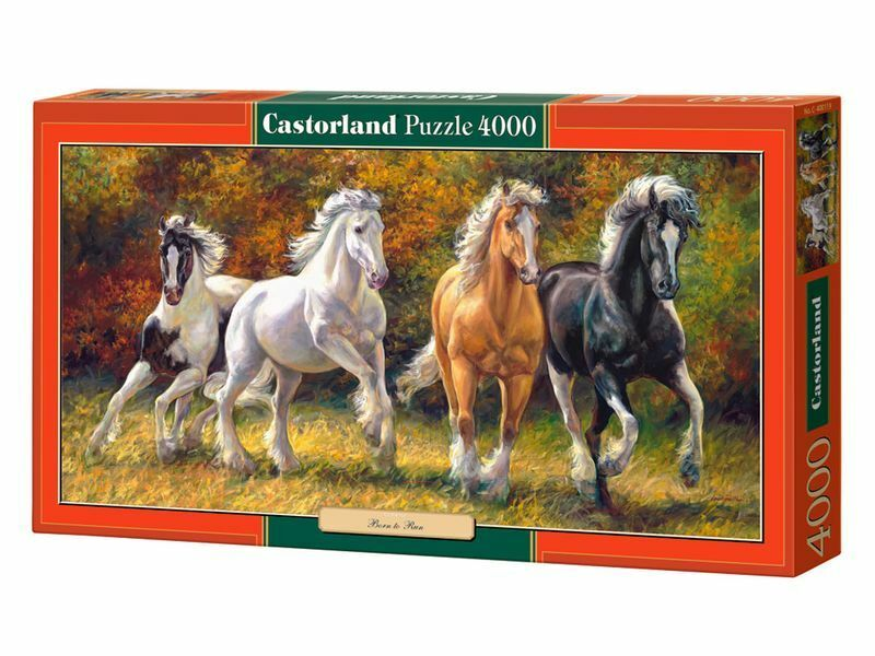 Castorland Puzzle 4000 Pieces - Born to Run 138x68cm 54 x27  Sealed box C-400119