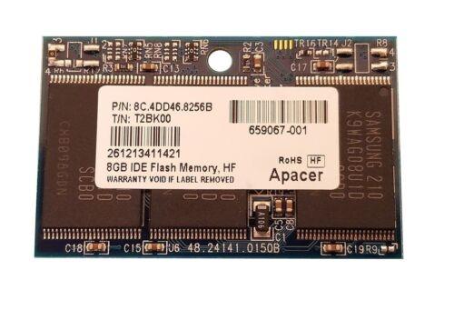 NEW APACER 8GB IDE 44p DOM 8C.4DD46.8256B HP THIN CLIENT t5740e t510 659067-001