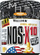 Weider Nos-X10 Dose 908g (35,67€/Kg)  ORANGE - Pre Workout Drink enthält Taurin