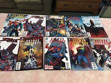 LOT OF TEN DIFFERENT THE NEW 52 BATMAN SUPERMAN COMIC BOOKS