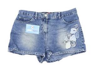 Womens-Trader-Blue-Denim-Shorts-Size-10-L2