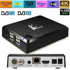 K1 Plus DVB-T2 DVB-S2 Android5.1 TV Box Amlogic S905 Quad Core 4K S8L1
