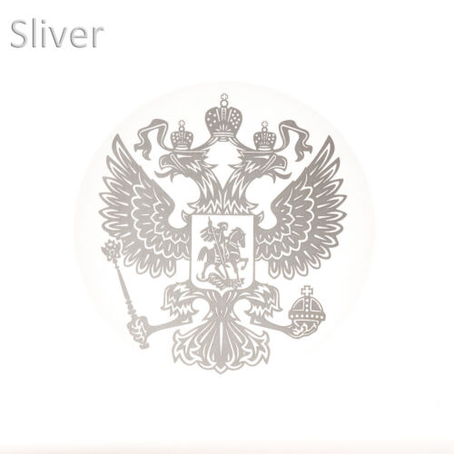 New Coat of Arms of Russia Car Stickers Decals Russian Federation Eagle Emblem