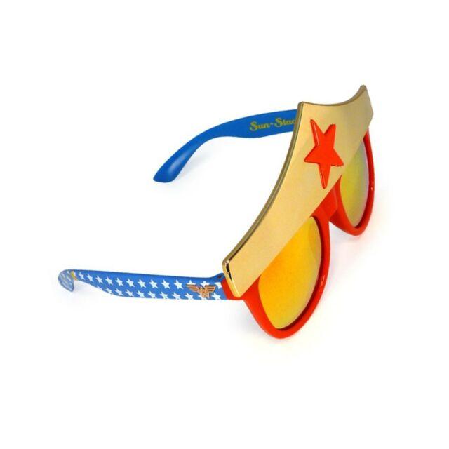 cf65fb218368e Sunstaches DC Comics Wonder Woman Star Sunglasses Party Favors Uv400 ...