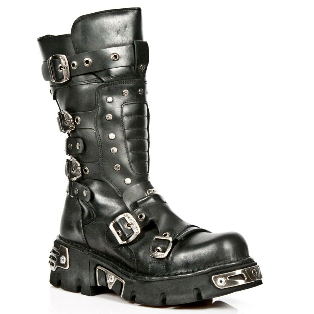 Newrock NR S2 M.1020 S2 NR Nero-New Rock Boots-Unisex 5b0c43