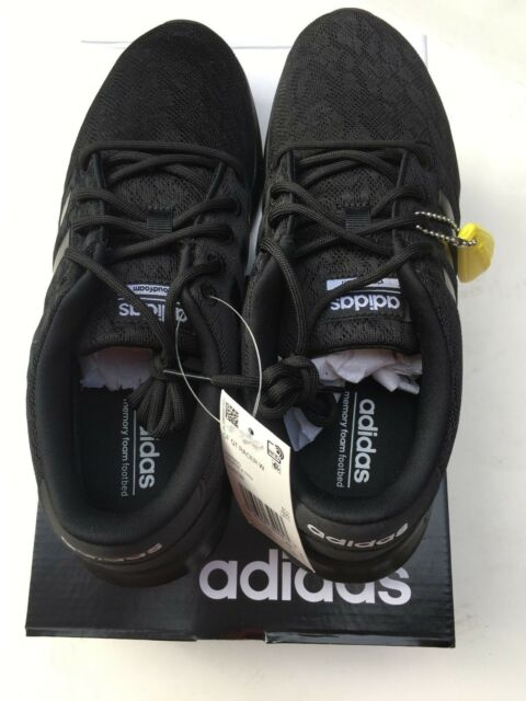 595b4b0b2 adidas CF QT Racer Women s Sneakers - Core Black Core Black White