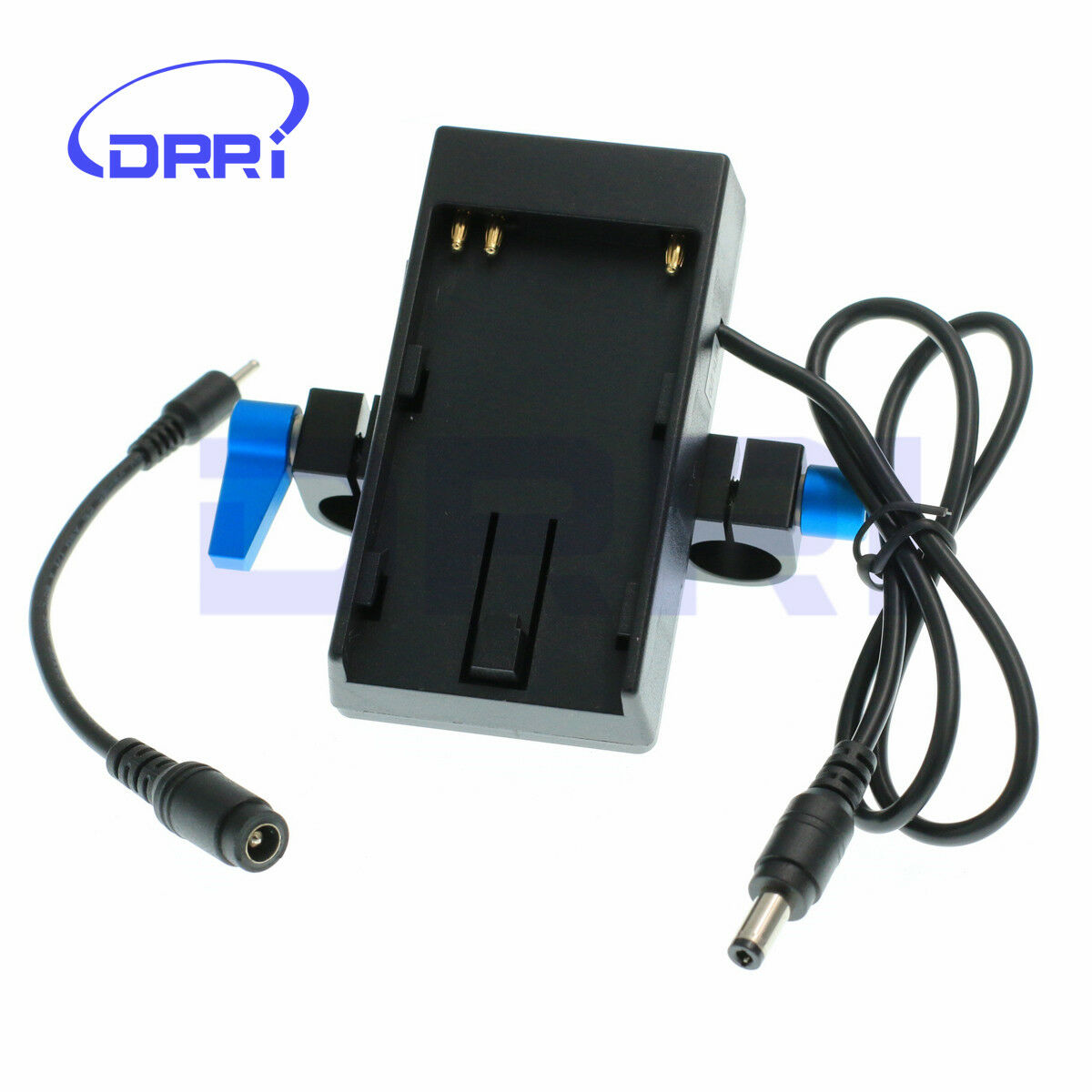 BMPCC BMCC 4K Camera Battery Mount Power Plate 15mm Rod Clamp For Sony BP-U60/30