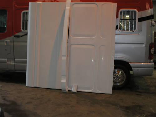 RENAULT MASTER HORSE BOX CONVERSION FIBREGLASS PANELS