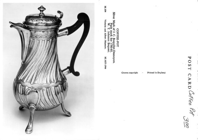 France Coffee-Pot - Victoria and Albert Museum (I-L 043)