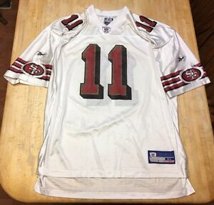 Mens Vintage San Francisco 49ers Alex Smith Reebok Jersey XL