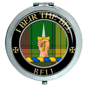 Glocke Von Kirkconnel Schottische Clan Kompakter Spiegel