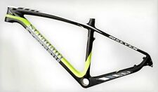 "STRADALLI FULL CARBON FIBER MOUNTAIN BIKE BICYCLE FRAME 27"" 650B MTB SMALL 16''"