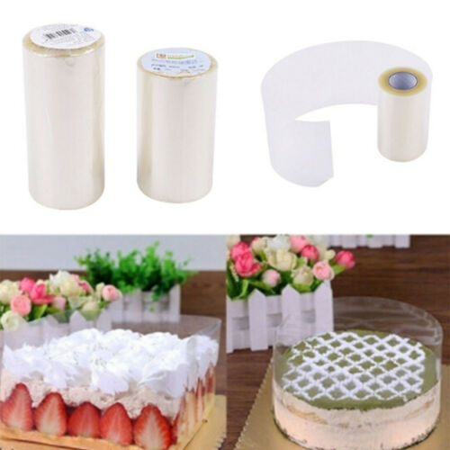 Transparent Clear Mousse Surrounding Edge Wrap Tape Baking Cake Collar Roll