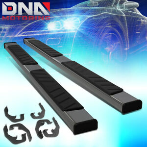 """FOR 1999-2019 SIERRA SILVERADO EXTENDED CAB 5"""" WIDE STEP BAR RUNNING BOARDS"""