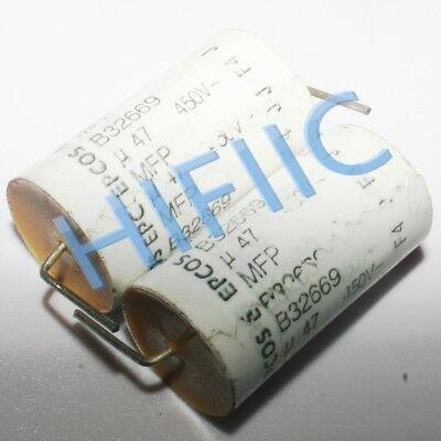 2pcs EPCOS B32669 0.27UF 400V axial capacitor