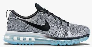 info for 9c0bd babe4 Details about NIKE FLYKNIT MAX (OREO) BLACK/ WHITE/ GREY.. SIZE 14.. SUPER  FAST SHIPPING!!