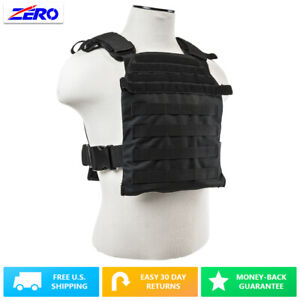"""MOLLE PALs Fast Plate Carrier Vest for 10""""X12"""" Plates 1050 Nylon Adjustable"""