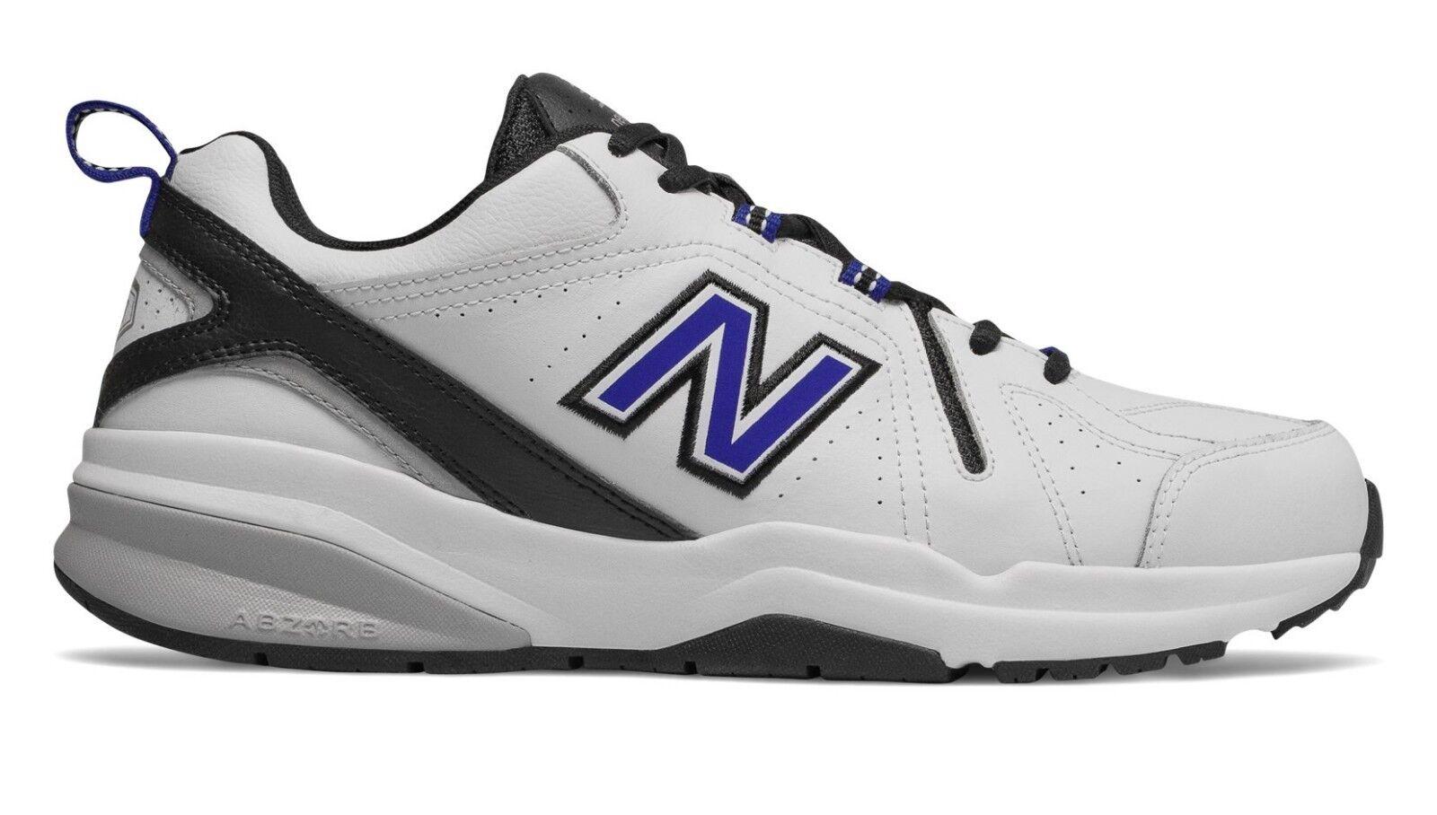 New Balance MX608WR5 Men's 608v5 White Black Slip-Resistant Training shoes