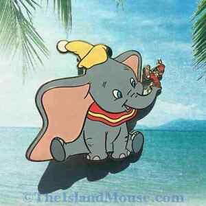 Rare-Disney-LE-500-Auctions-P-I-N-S-Dumbo-Timothy-Q-Mouse-Pin-UJ-32309
