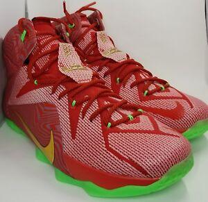 af0902e0b0b Nike Lebron XII 12 Sprite Mix Pack PE iD SZ 14 ( 728709-999 )