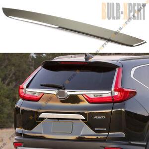 For 2017 18 Honda Crv Cr V Chrome Stainless Trunk Tailgate Lid Bezel Trim Cover Ebay