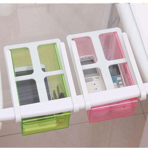 Creative Slide Fridge Freezer Organizer Refrigerator Storage Rack Shelf Drawer