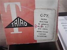NiB Triad C-7X Filter Choke 10HY 90MA