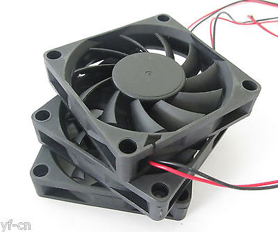 1pc Brushless DC Cooling Fan 70x70x10mm 7010 13 blades 5V 12V 24V 0.15A 2pin fan