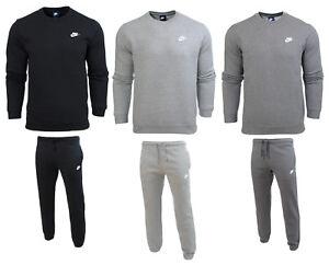 Details zu Nike heren trainingsanzug sweatanzug jogginganzug sweater pullover hose fleece