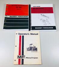Massey Ferguson 285 Tractor Service Repair Operators Parts Manual Catalog Set