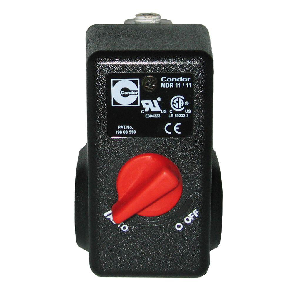 034-0184RP hometownmall 125 -155 Psi Pressure Switch Air Compressor Regulator Replacement 4 Port Bleeder