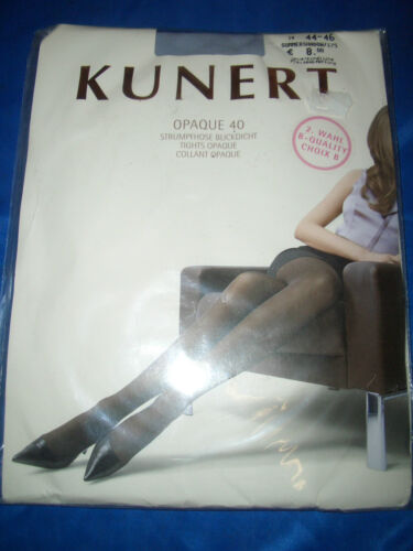 Kunerl Opaque regard densité Collant Taille 44-46 summershadow 40 les neuf dans sa boîte