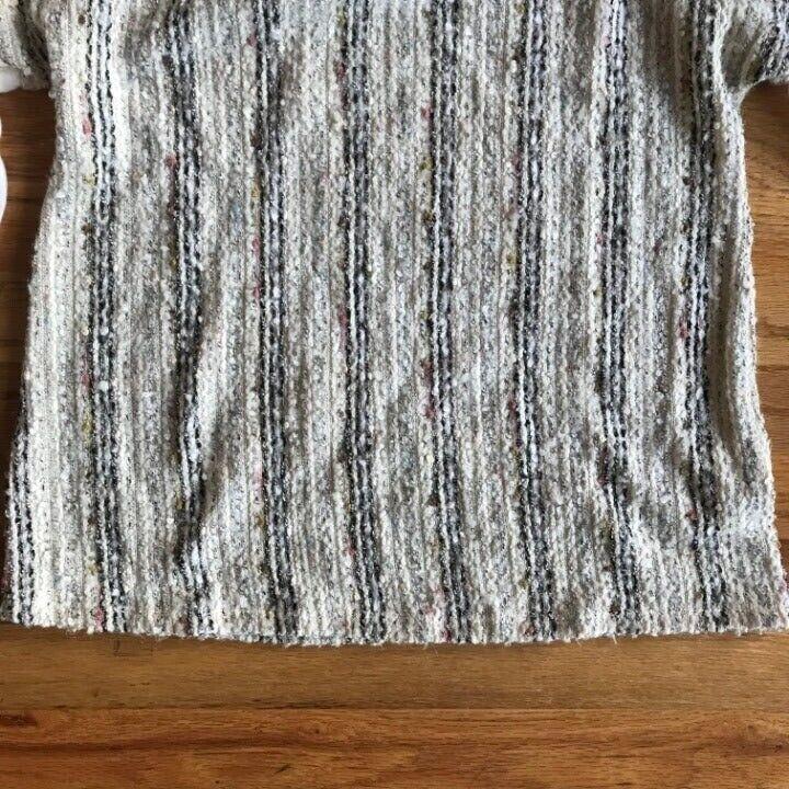 ANTHROPOLOGIE Deletta Textured Knit M - image 6